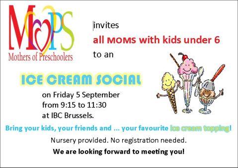 MOPS Ice cream