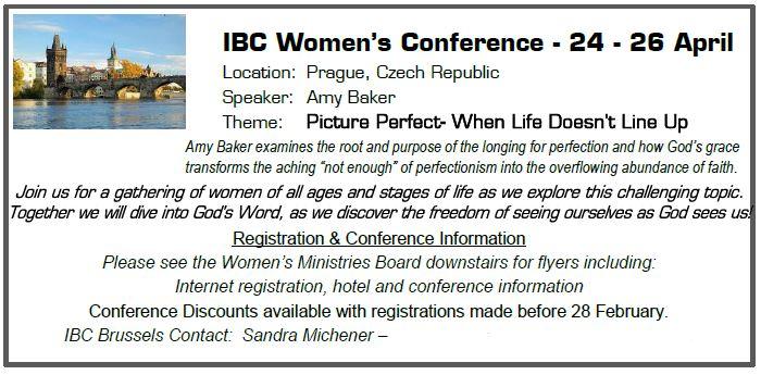 IBC Womens Conf